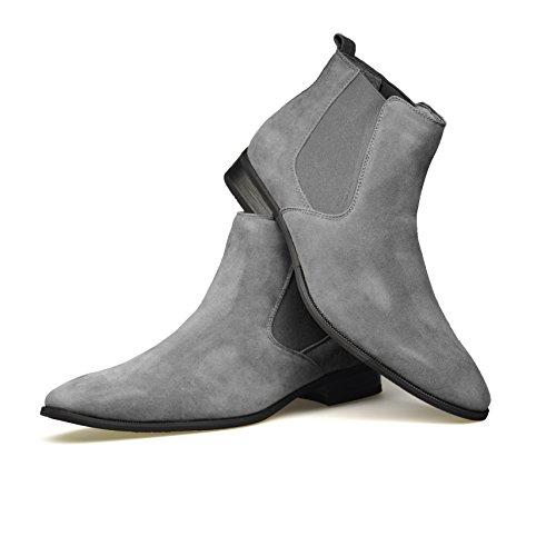 nbsp;a 42 40 Color Gamuza Gris Eu Talles De Hombre Talla Zapatos Bodas Elegantes Estilo Informal Para 45 7vHwqxzwZ