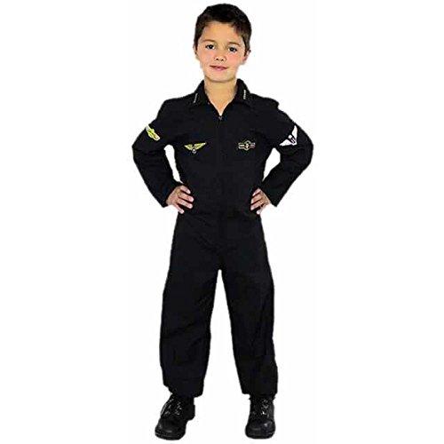 Child's Top Gun Air Force Pilot Costume (Size: X-small 4-6) ()