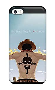 Defender Case With Nice Appearance (portgas D. Ace - One Piece) For Iphone 5/5s