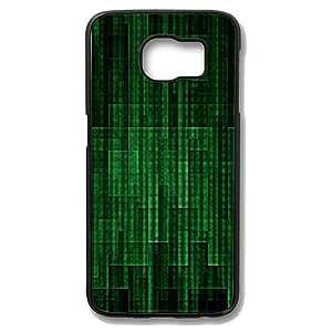 Samsung Galaxy S6 Edge Case - Matrix 02 Slim Bumper Case with Soft Flexible TPU Material for Samsung Galaxy S6 Edge Black