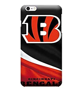 JIDANBING Phone Protective Covers,NFL-Cincinnati Bengals Skin Slim Case Covers Compatible For iphone 6 plus(5.5)