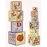 41inScOjm7L. SL160  Schylling ABC Nesting Cubes