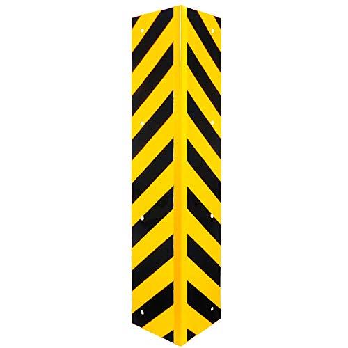 ROBUSTO 90° Eckschutzwinkel gelb/schwarz, zum Aufdübeln, Schutz vor Anfahrschäden, 100 x 20 cm