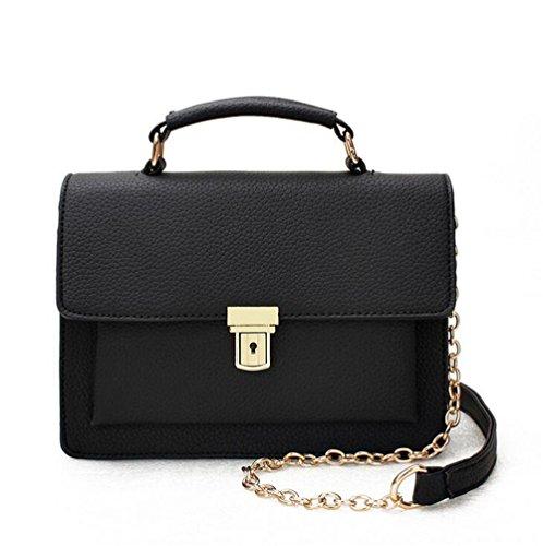 En Sac Bag Rouge Femmes Black Gaufré Cuir Unie GWQGZ À Mode Nouveau Sac Simple Cuir Pu Main Messenger Qualité Couleur Épaule 74Cqzp