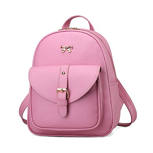 Wallet Pink Owill Style Shoulder Holder Backpack Travel Women Card Sets 4 Brief Girls Bag vSvqwg