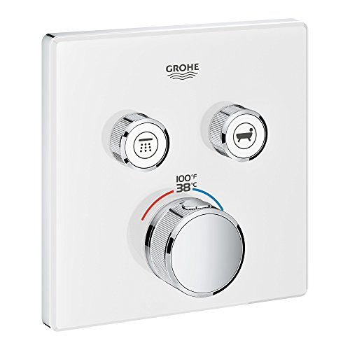 GROHE 29164LS0 29164 Glass Square US Thm Smartcontrol 2 by GROHE