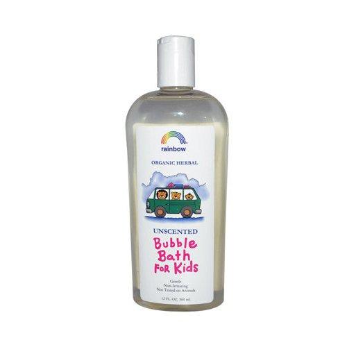 Kids Bubble Bath - Unscented Rainbow Research 12 oz Liquid