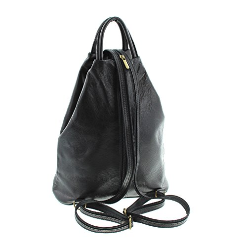 MIO à sac Icone® en per à bretelles port pour Borsetta à femme Sac IO le dos main schwarz IO 0wAq5xB6x