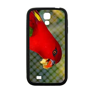 The Red Parrot Hight Quality Plastic Case for Samsung Galaxy S4