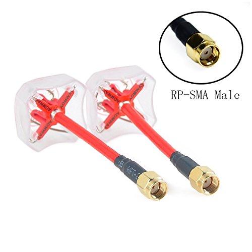 weyland-aomway-ant006-58ghz-fpv-4-leaf-clover-av-transmission-rhcp-antenna-1-pair-rp-sma-male-red