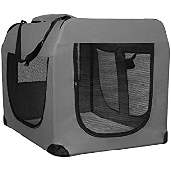 Amazon Com Oxgord Dog Crate Soft Sided Pet Carrier