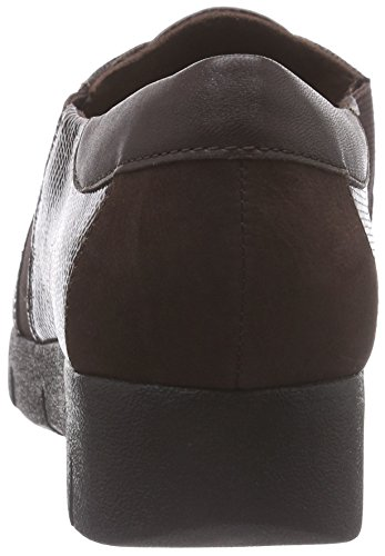 Marron Femme Daelyn Lea Brown Vista Chaussons Clarks dark fqI6wR4