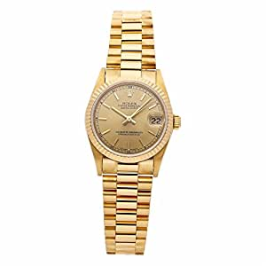 Rolex Datejust Automatic-self-Wind Female Watch 68278 (Certified Pre-Owned)