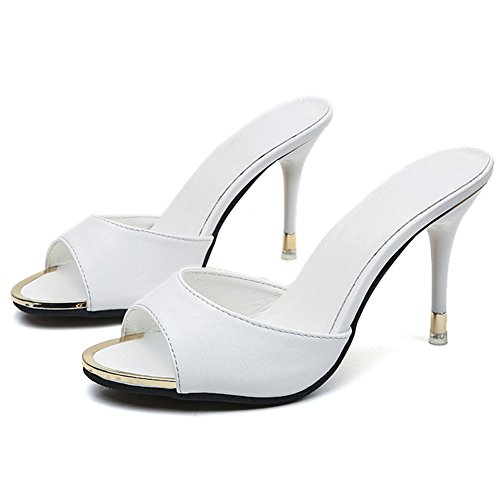 Image of Paul Kevin Womens High Heeled Sandals Slippers Mules Shoes Womens Pumps