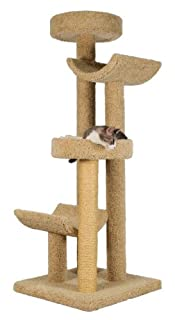 """Molly and Friends """"Step Stool Sleeper Premium Handmade 4-Tier Cat Tree with Sisal, Model 2323, Beige (B000OSNYKG)   Amazon price tracker / tracking, Amazon price history charts, Amazon price watches, Amazon price drop alerts"""
