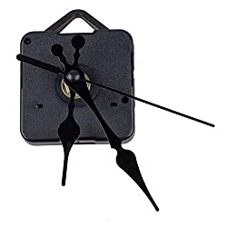 Clock Movement - Clock Movement Black Hour Minute Second Hand Diy Kit - Motor Quartz Box Torque Pendulum Hd-1688 One Set Westminster Auto
