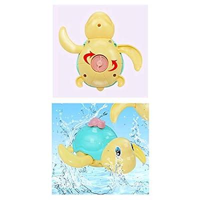 B bangcool Kids Wind up Toy Turtle Shape Bathtub Toy Educational Toy Bath Toy (3 PCS): Toys & Games