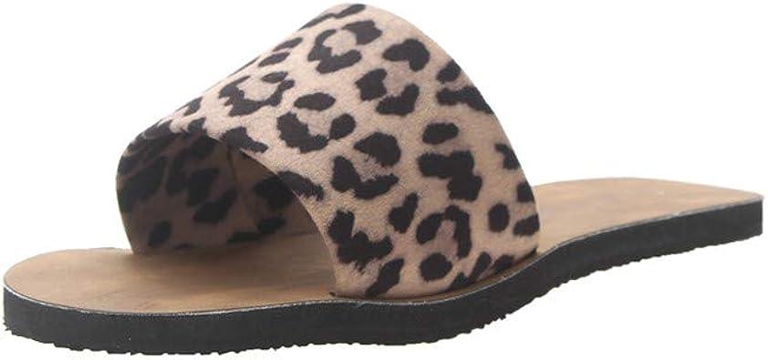 Lurryly Summer Womens Sandals Bohemian Flowers Flat Shoes Belt Buckle Clip Toe Sandals