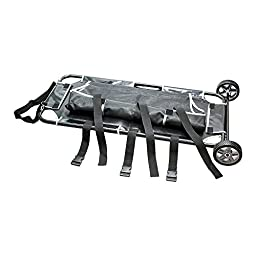 Pet Animal Stretcher Mobile Trolley, 250lbs Capacity, 45\