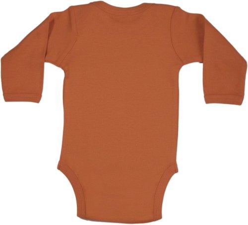 Baby Milano Texas Orange Onesie Long Sleeve