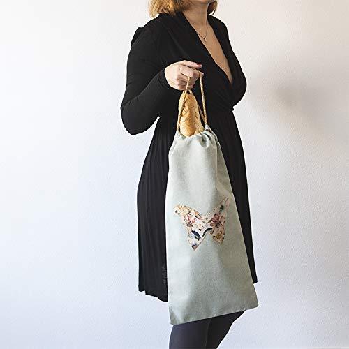 Bolsa de tela para el pan: Amazon.es: Handmade