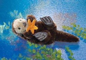 Sea Otter Puppet (Puppet Folkmanis Otter)