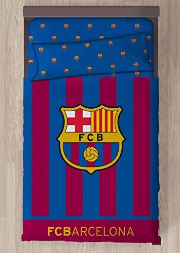 Carbotex Juego DE SÁBANAS FC Barcelona Escudo CENTRADO (90)