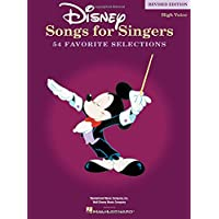 Disney Songs For Singers: High Voice - Revised