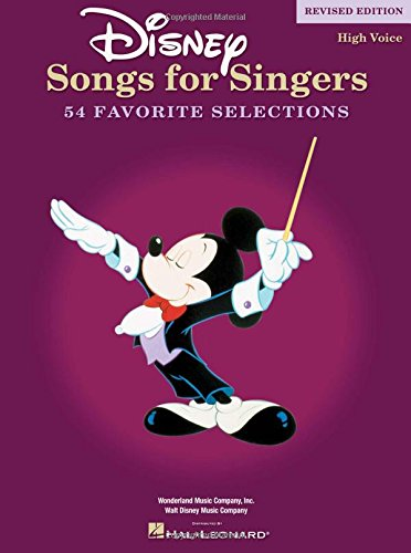 Disney Songs For Singers (High Voice): Noten für Hohe Stimme, Klavier, Gitarre