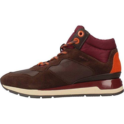 Calzado deportivo para mujer, color marr�n , marca GEOX, modelo Calzado Deportivo Para Mujer GEOX D SHAHIRA A Marr�n marr�n