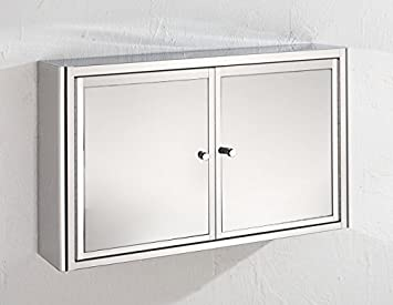 Nancy Wide By Tall Double Door Mirror Bathroom Wall
