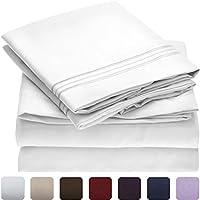 Mellanni Bed Sheet Set - Brushed Microfiber 1800 Bedding...
