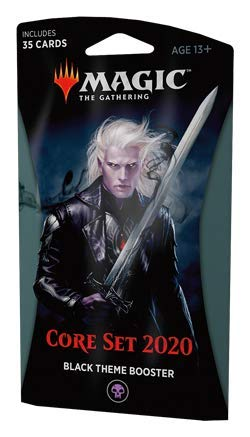 Magic The Gathering: Core Set 2020 - M20 Theme Booster Pack - Black ()