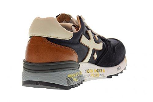 Scarpe Sneakers 1980 Basse Uomo Mick blu PREMIATA gSdqwfw