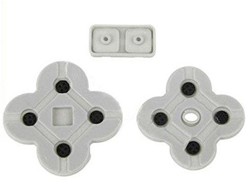 Conductive Rubber Button D Pads For Nintendo DS Lite NDSL DSL Replacement Repair Parts -