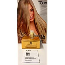 Tahe Magic Bx Gold 5x10ml Thickening and nourishing hair Treatment Prolong with Liquid Gold & Salicylic Acid by Tahe