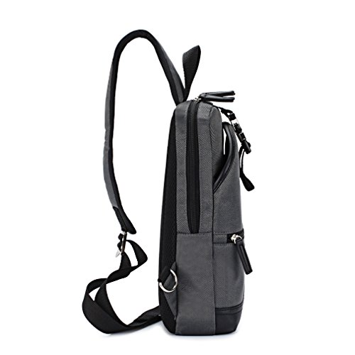 DOMISO Gürteltasche Taille Tasche Messenger Bag Crossbody Bag Lässig Rucksack Umhängetasche Freizeittasche für Reisen, Sport und Alltag , Grün