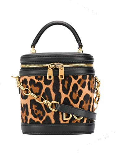 Dolce E Gabbana Women's Bb6692az391haalm Brown Leather Handbag