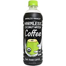 Harmless Harvest Coconut Water, Coffee, 16 Ounce (Pack of 12)