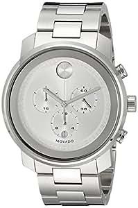 Movado Men's 3600276 Analog Display Swiss Quartz Silver Watch