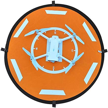 jinclonder Coussin d'atterrissage Drones, Coussinets d'atterrissage Pliables étanches à Test de Soleil Universel Drone Tablier pour Xiaomi FIMI X8 Se, DJI et Autres hélicoptères RC Drones