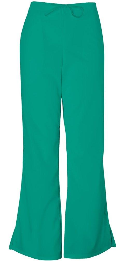Cherokee Workwear Originals Women's Natural Rise Flare Leg Scrub Pants XX-Large Surgical Green