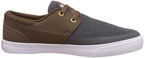 DC Men's Wes Kremer 2 S Trainers, Navy Blue/Brown, 8 brown/grey