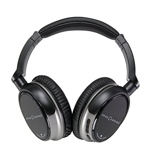 Head Bands Bluetooth Headphones Over Ear, Hi-Fi Stereo Wi...