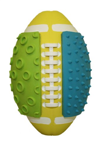 Multipet Hodgepodge Ball Rubber Squeak Dog Toy, 5-Inch