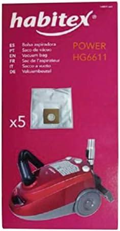 Habitex Aspirador hg6611. Rec. 5 bols.Microfibra: Amazon.es: Hogar