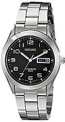 Seiko Men's SGG711 Titanium Watch