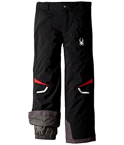 Spyder Kids Boy's Force Pants (Big Kids) Black/Red 16 by Spyder (Image #2)