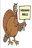 Vegan Journal Funny Turkey Humor Vegan Food Jokes: (Notebook, Diary, Blank Book) (Vegan Food Journals Notebooks Diaries)