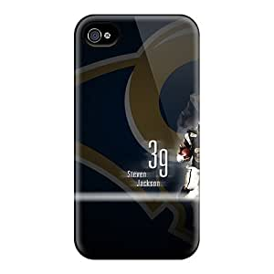 Shockproof Hard Phone Case For Iphone 6 (LlZ18034MXXu) Customized Beautiful St. Louis Rams Skin